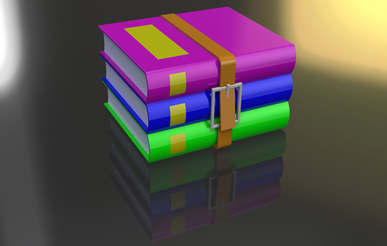 WinRAR archive extraction tool for Windows